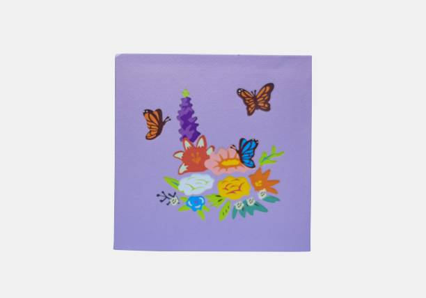 cardpop Flower Basket with Butterfly 3D pop up Greeting Card
