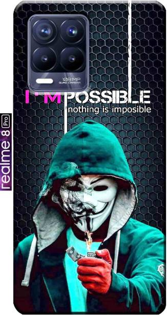 RDcon Back Cover for Realme 8 Pro