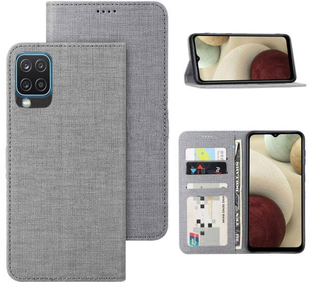KBV Flip Cover for Samsung Galaxy A12