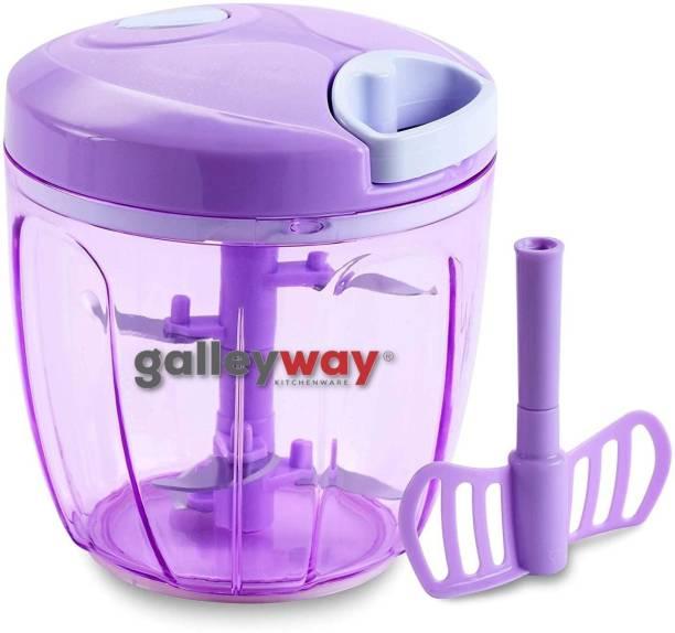 galleyway Women's 1st Choice Quick Handy Chopper XL (900ml) Vegetable & Fruit Chopper