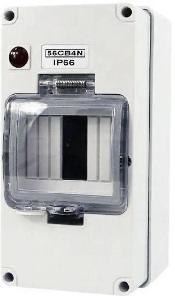 Smartomatic 4 Ways IP66 4Ways MCB Distribution Box Waterproof Distribution Board