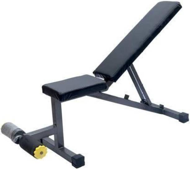 RIO PORT Exercise Bench Adjustable Workout Weight Bench Multipurpose Fitness Bench