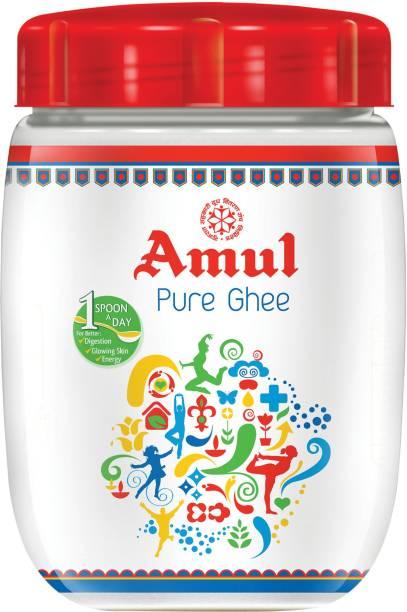 Amul Ghee 500 ml Plastic Bottle