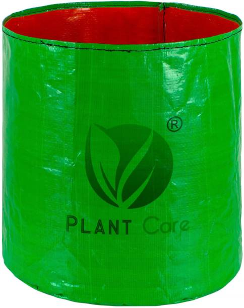PLANT CARE 12 X 12 Inch HDPE Gardening Grow Bag, Nursery Cover Green Bags, Indoor & Outdoor Grow Containers for Vegetables Fruits Flowers with quantity of 8 Grow Bag
