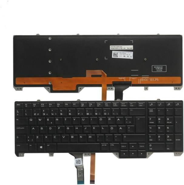 DELL Alienware 17 R2 / R3 Backlit Laptop Keyboard Internal Laptop Keyboard