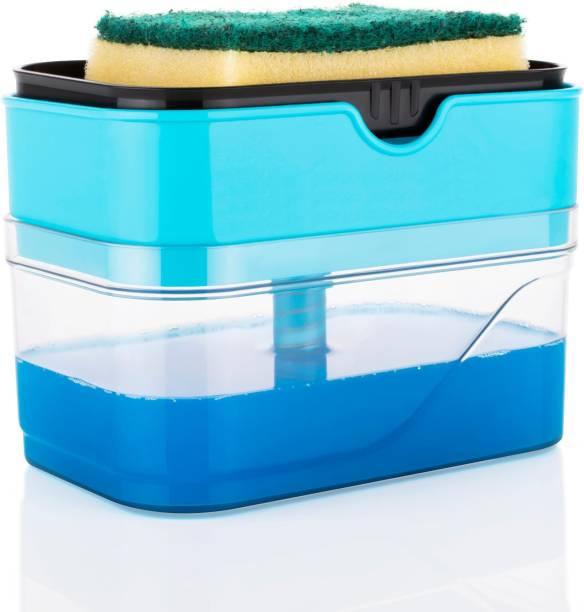 Kitchenwell Liquid Dispenser /Soap Dispenser Through Pump (380ml) 380 ml Liquid, Soap Dispenser