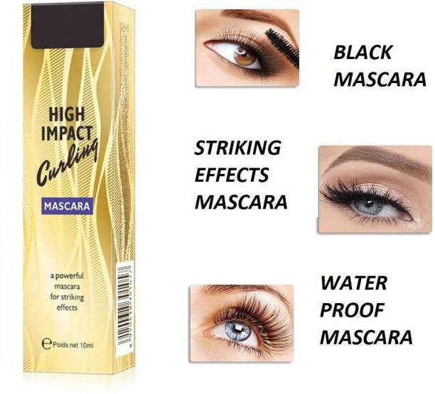 ADJD Best High Impact Curling Mascara, A Powerful Mascara for Striking Effects 10 ml