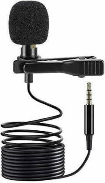 Miraaz Digital Noise Cancellation Clip Collar Mic Condenser For Youtube Video | Interviews | Lectures | News | Travel Videos Mike for Mobile Microphone Microphone