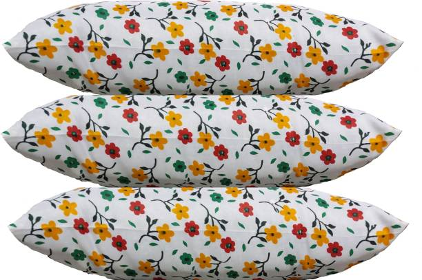 Changers Flower Print Microfibre Floral Sleeping Pillow Pack of 3