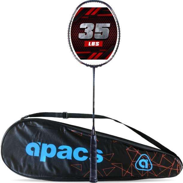apacs Z-Fusion (35LBS, 80G) Black Unstrung Badminton Racquet