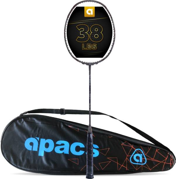 apacs Z-Ziggler Grey Unstrung Badminton Racquet