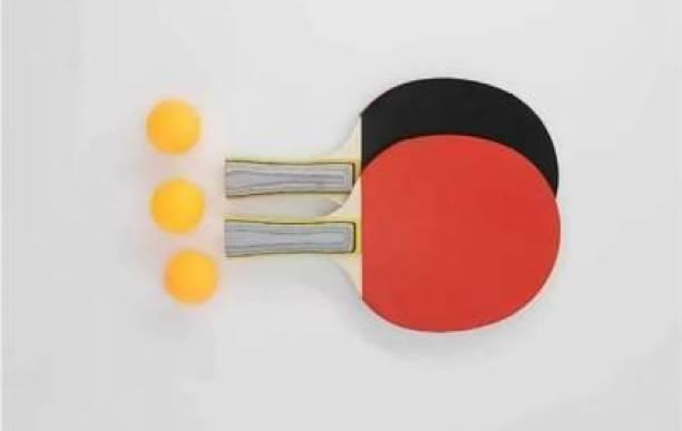 AS ENTERPRISES Table Tennis Bats Racquet Multicolor Table Tennis Racquet