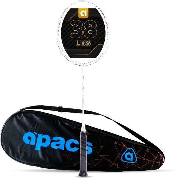 apacs Finapi 232 White Unstrung Badminton Racquet