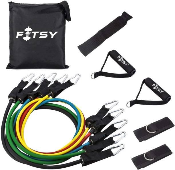 FITSY 9 Pcs Resistance Bands Set Resistance Tube