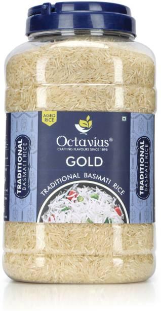 Octavius Gold Traditional Basmati Rice (Long Grain, Steam)