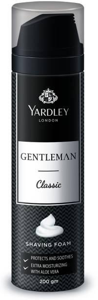 Yardley London Gentleman Classic Shaving Foam with Aloe Vera