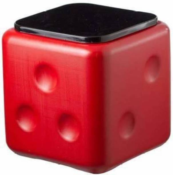 Ravenclaw Plastic Dice Stool, Unbreakable Plastic Square Office, Cafeteria, Living, Bedroom Dice Stool Table, Sittting Stool Living & Bedroom Stool (Red) Stool