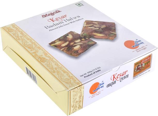 Bhagat's Heera Sweets Ready to Eat Kesar Badam Halwa Box