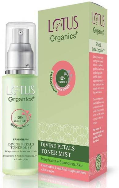 Lotus Organics+ Divine Petals Toner Mist Women