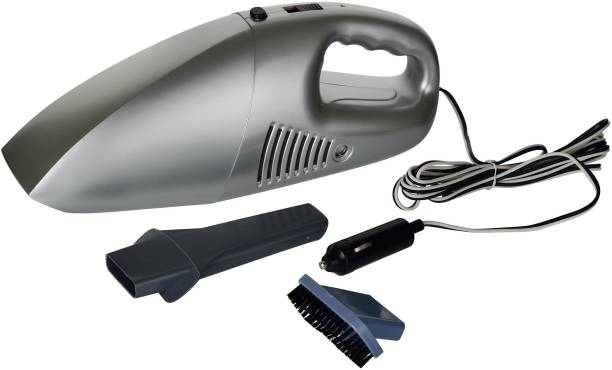 XABRCO Car Vacuum Cleaner with Device Portable and High Power Plastic 12V Stronger Suction for All Types Wet and Dry High Power Portable Car and Home Wet and Dry Car Vaccum Cleaner Multipurpose Vaccum Cleaner for Car Cleaning Car Vacuum Cleaner Car Vacuum Cleaner