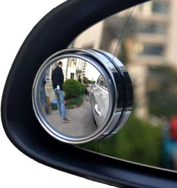Jiyatech Manual Blind Spot Mirror For Volkswagen, Mahindra, Maruti Suzuki, Hyundai, Jaguar, KTM, Toyota WagonR, Swift Dzire, Santro, Omni, i20 Elite