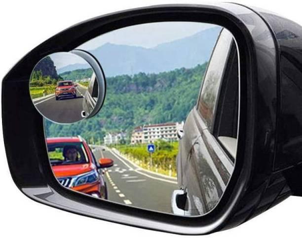 Jiyatech Manual Blind Spot Mirror For Volkswagen, Mahindra, Suzuki, Jaguar, Hyundai, Maruti Suzuki, Audi, Toyota WagonR, Omni, i20 Elite, Innova, Swift Dzire, XUV 500, KUV 100