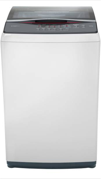 BOSCH 6.5 kg Fully Automatic Top Load White, Grey