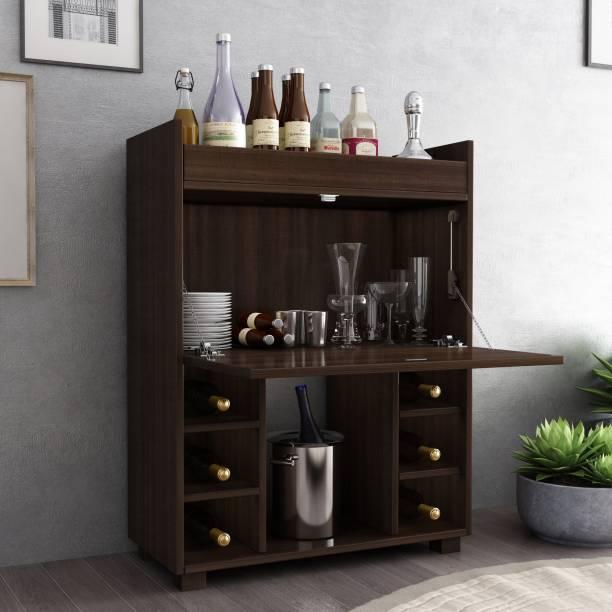 Crystal Furnitech Moet Engineered Wood Bar Cabinet