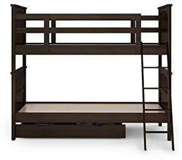 SS Wood Furniture Solid Wood Bunk Bed