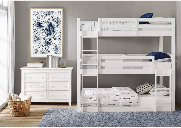 APRODZ Solid Wood Bunk Bed