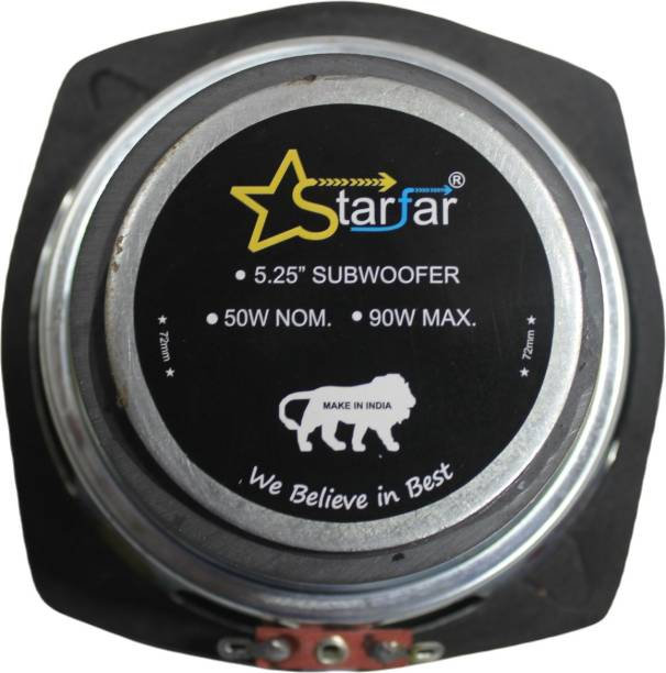 "Starfar 5.25""(80) Starfar 5.25 inches Subwoofer 8 Ohms/90Watts/80mmMagnet Subwoofer"