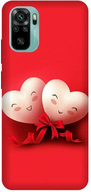 SAVETREE Back Cover for Redmi Note 10, Two Heart, Back cover