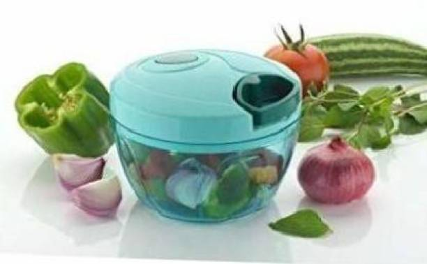 Velish Quick premium Vegetable & Fruit Chopper /DRY FRUIT/ONION/CLASSIC CHOPPER/FASHIONABLE CHPPER(01 pc Chopper, 01 Blade Shaft, 01 Mixer Shaft, 01 String Head) Vegetable & Fruit Chopper