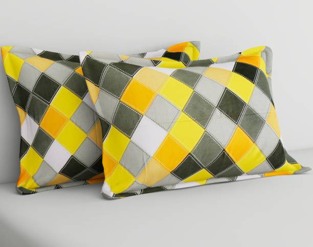 Flipkart SmartBuy Geometric Pillows Cover
