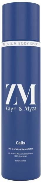 ZM Zayn & Myza Calix No Alcohol Body Spray  -  For Men