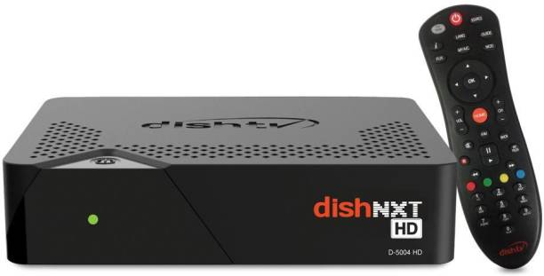 Dish TV HD (1080 i) DTH Connection | Only Set top Box offer | With 1 Month Subscription of BANGLA HD Pack , Installation & Warranty