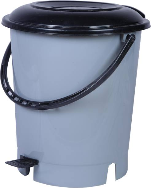 3D METRO SUPER STORE Plastic Pedal Bin, Capacity: 12 L Plastic Dustbin