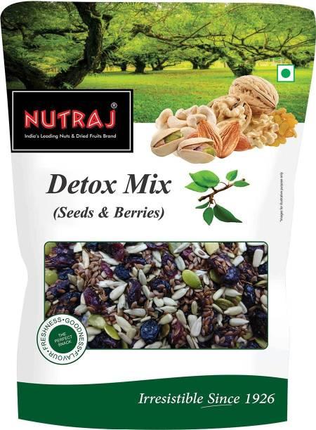 Nutraj Detox (Mix of Pumpkin Seeds, Sunflowers Seeds, Flax Seeds, Dried Cranberries & Blueberries)