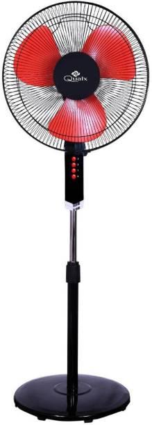 QUALX GATIMAAN HIGH SPEED 400 mm 3 Blade Pedestal Fan