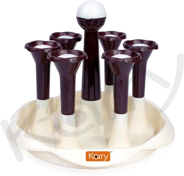 Karry K-10-B Plastic Glass Holder