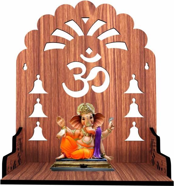 Mandiram temple 02 Engineered Wood Home Temple