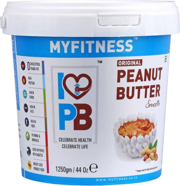 MYFITNESS Smooth Peanut Butter 1250 g