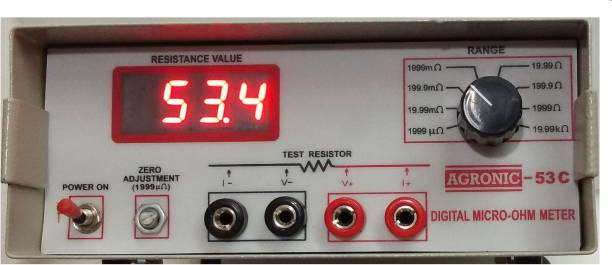 SIGMA 53 C micro ohm meter Non-magnetic Electronic Level