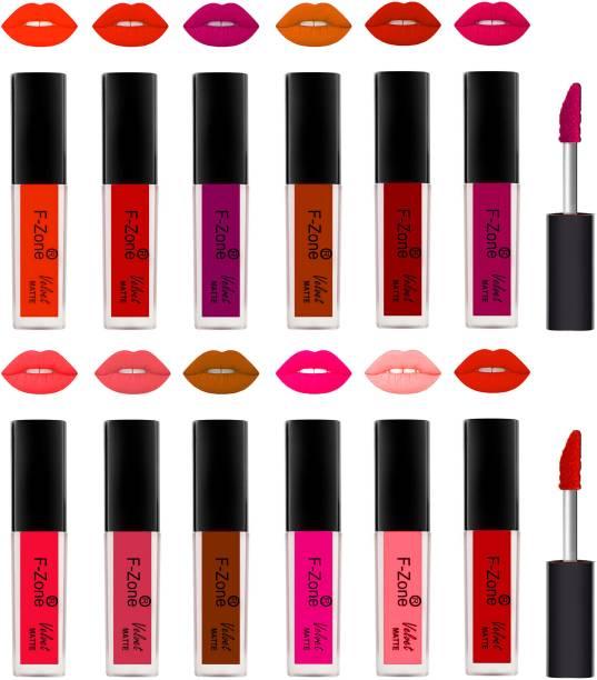 F-Zone Kiss Proof Velvet Matte Liquid Lipstick