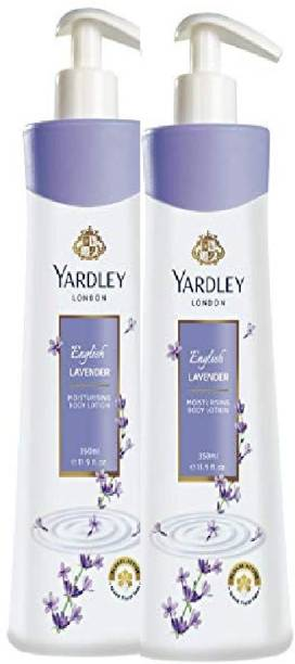 YARDLEY english lavender body lotion 350 ml each pack of 2