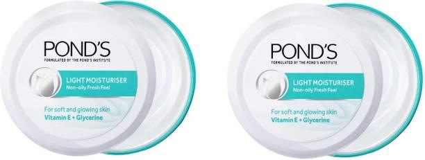 PONDS light moisturiser (2*75ml)
