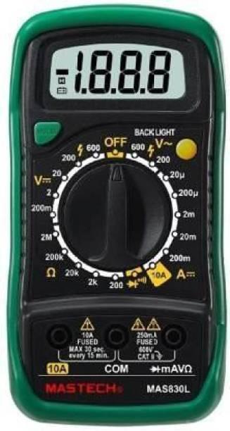 Mastech MAS830L Digital Multimeter With Calibration Certificate Digital Multimeter