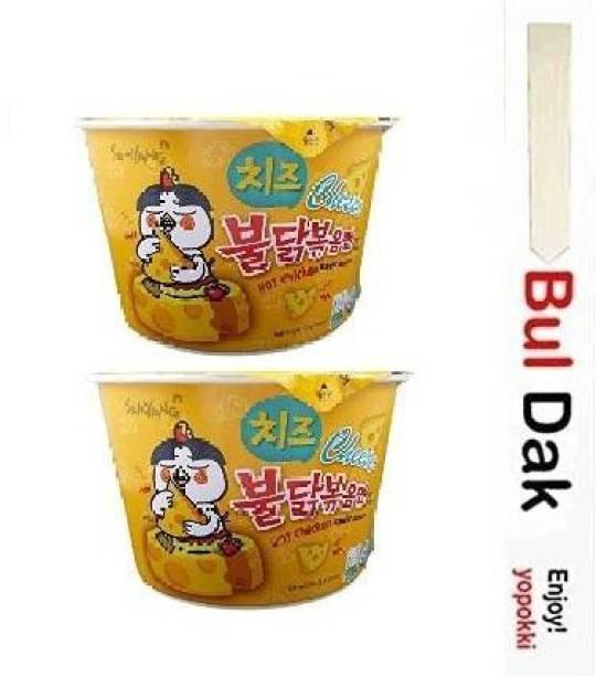 Samyang Big Cheese Bowl Flavor Ramen Cup Noodle Instant Noodles Non-vegetarian