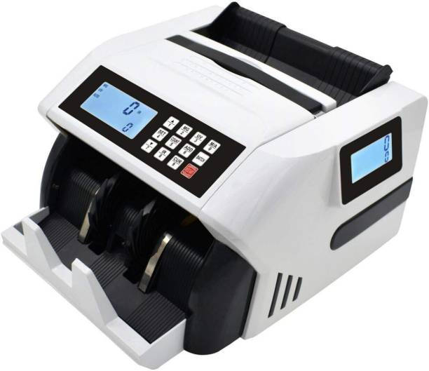 SWAGGERS Super Heavy Duty Currency/Note/Money/Cash Counting Machine with Fake Note Detector For All New and Old Rupees 10,20,50,100,200,500,2000 Note Counting Machine