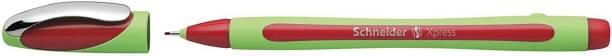 schneider Xpress Fineliner 0.8mm Porous Point Pen, Red, Fineliner Pen